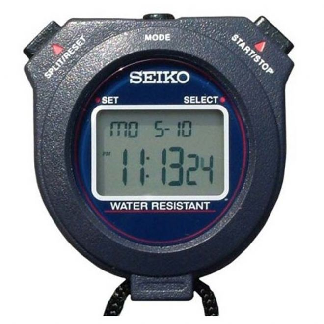Seiko W073 Stopwatch (10 Lap Memory) - Saturn Stopwatches